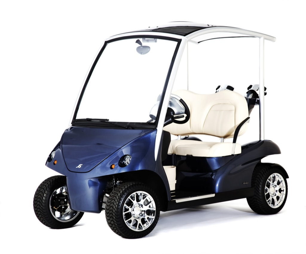 Garia LSV, the Street Legal Luxury Golf Cart - autoevolution