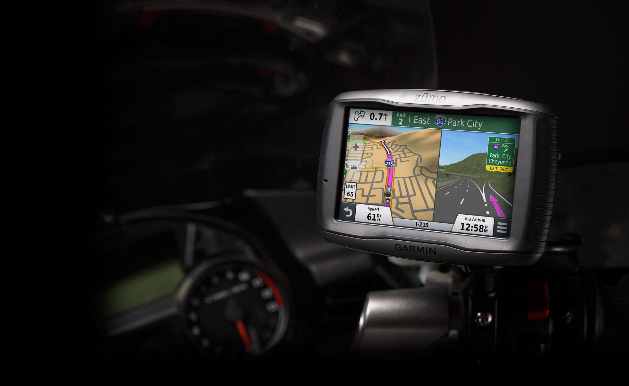 garmin reveals zumo 590lm premium motorcycle gps autoevolution. Black Bedroom Furniture Sets. Home Design Ideas