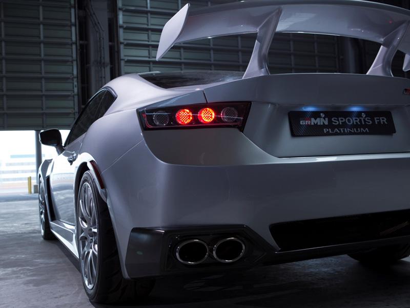 Gazoo Toyota 86 Grmn Sports Fr Concept Platinum Autoevolution