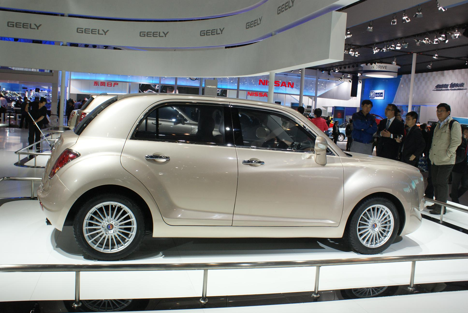 Geely Englon Sc7 And Sx6 Bentley Suv Cloned Autoevolution