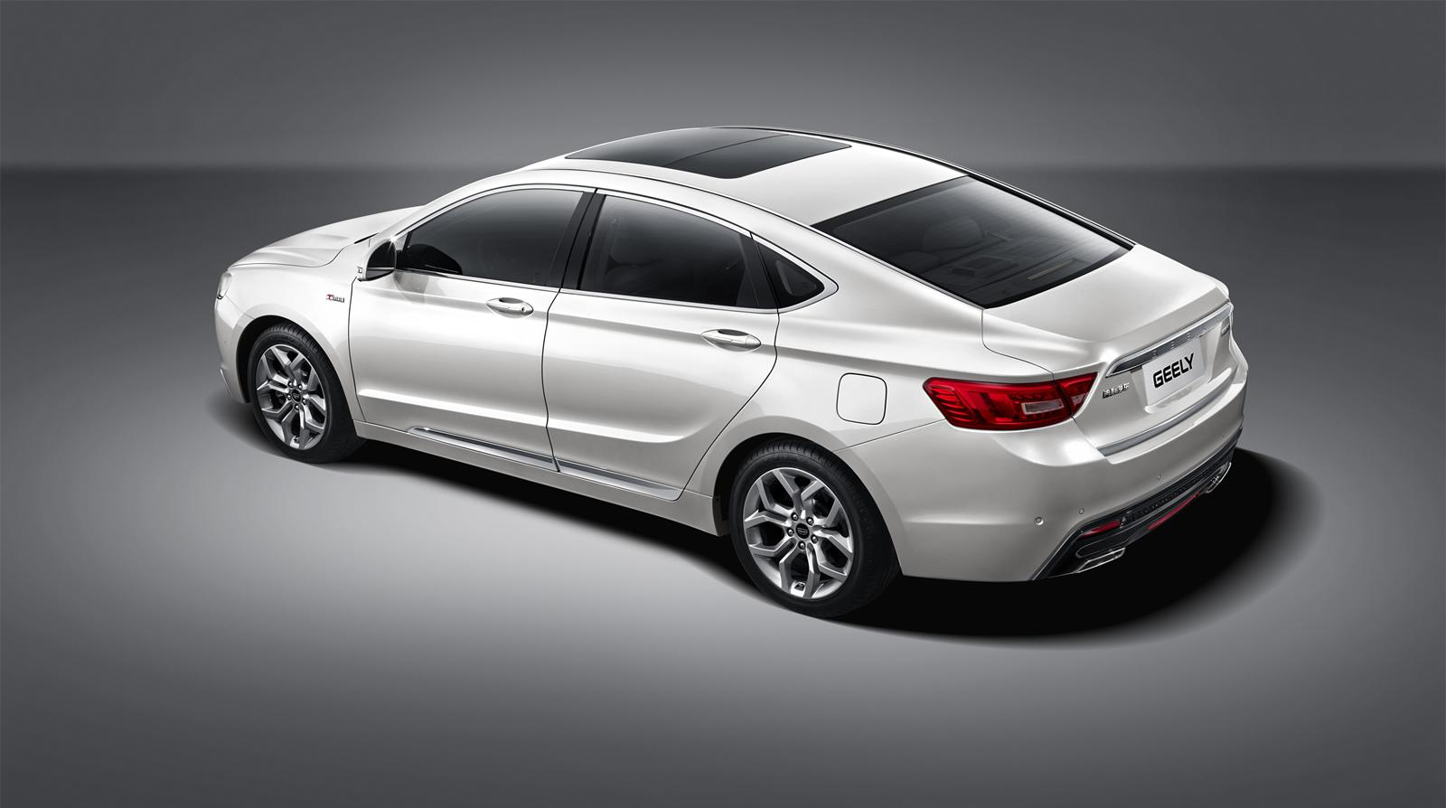 Geely GC9 Is a Classy New Chinese Sedan - autoevolution