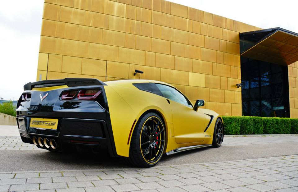 Geiger Corvette C7 Stingray Supercharged To 590 Horsepower