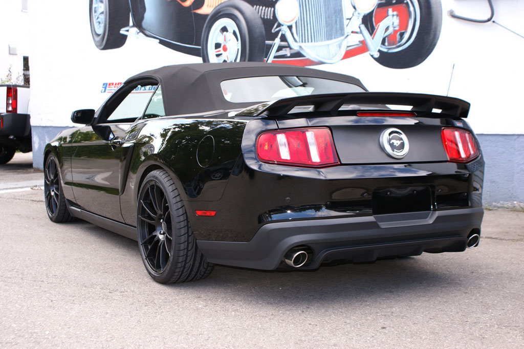 Geiger Supercharges the 2011 Mustang GT autoevolution