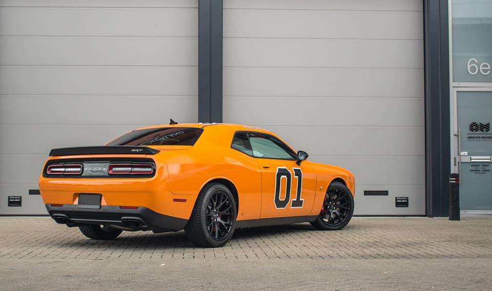 Dodge challenger hellcat orange awesome dodge challenger for Is dodge general motors