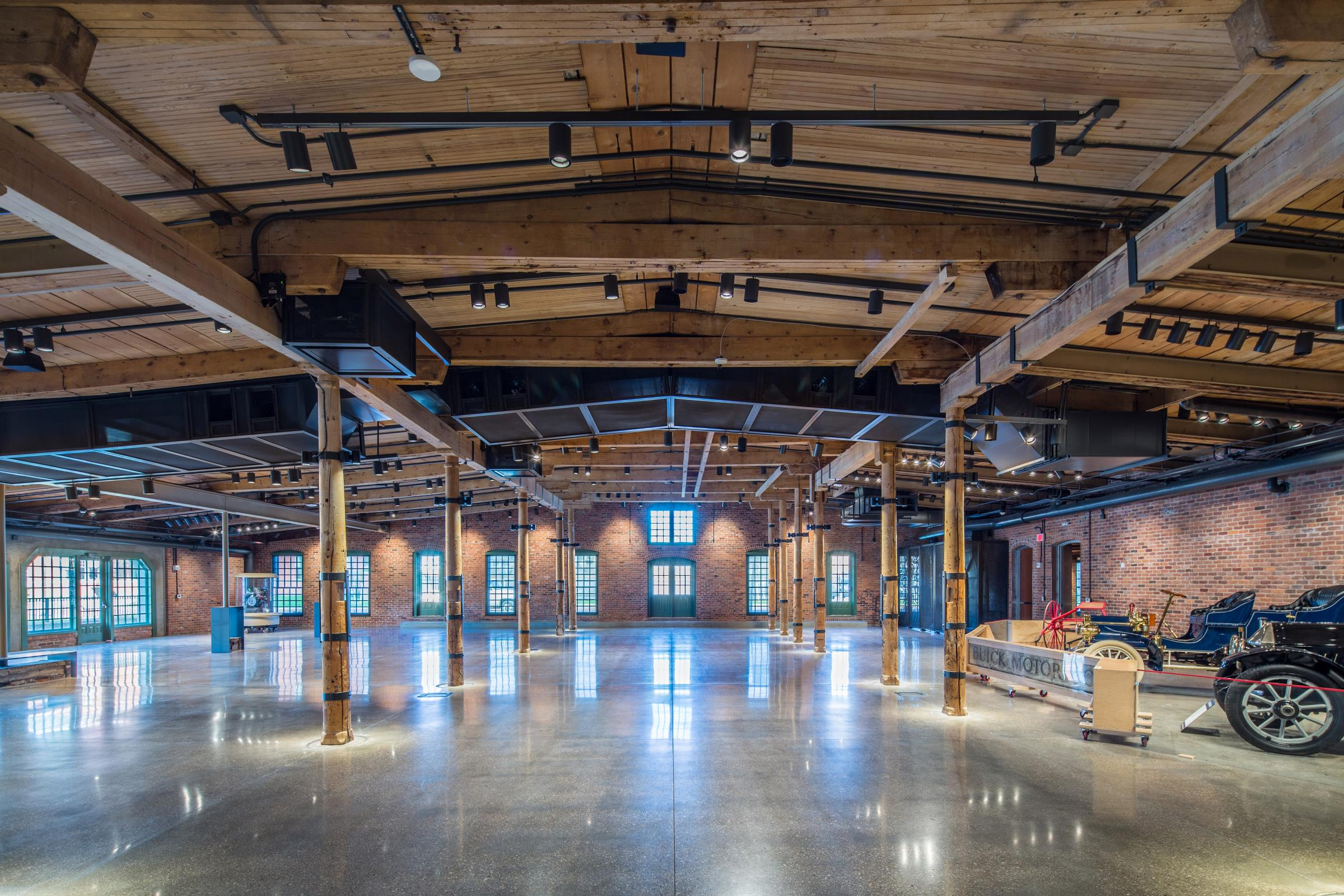 Old Mill Gm >> General Motors Opens Restored Durant-Dort Factory One ...