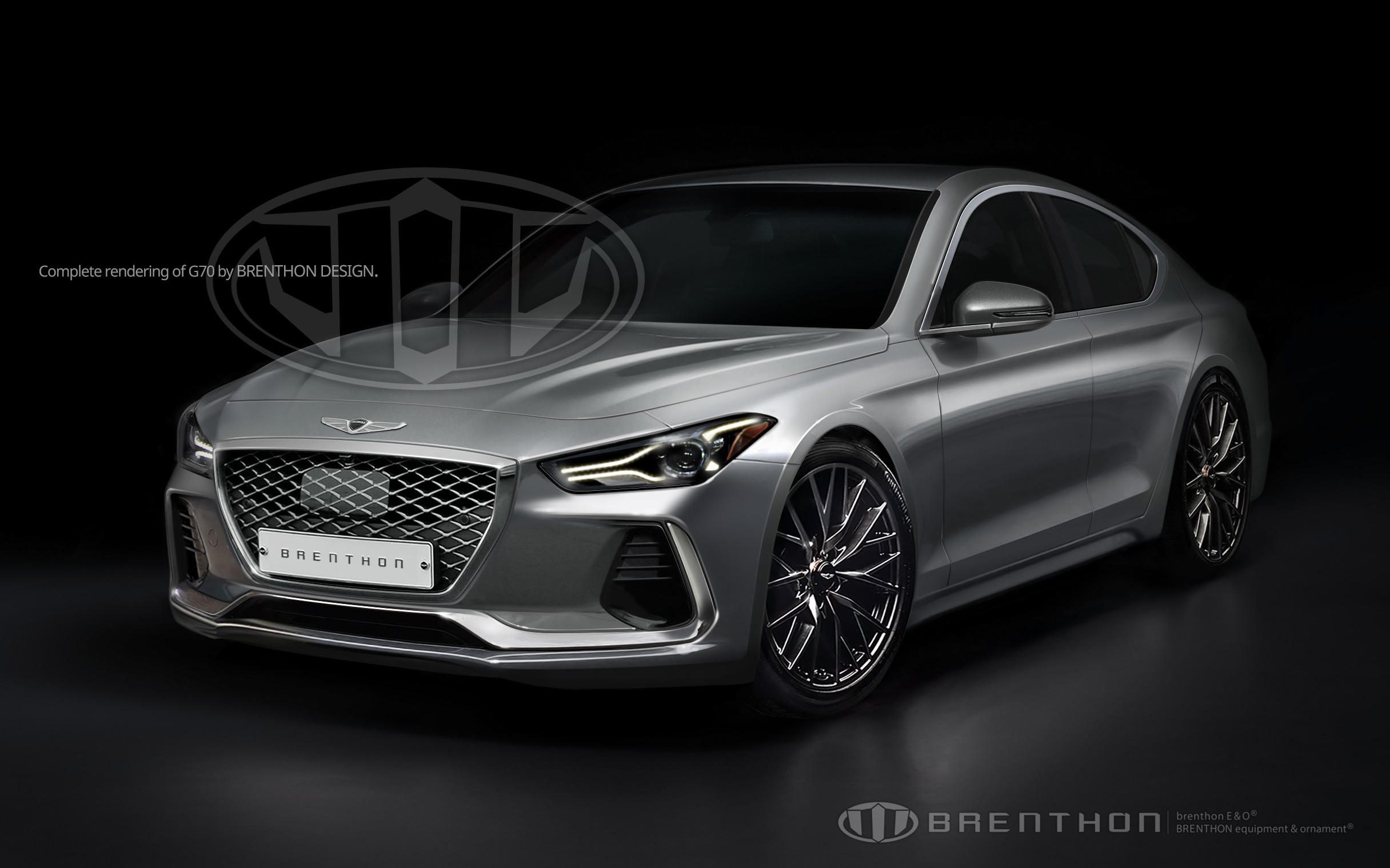 2018 Genesis G70 Imagined By Brenthon Design Autoevolution