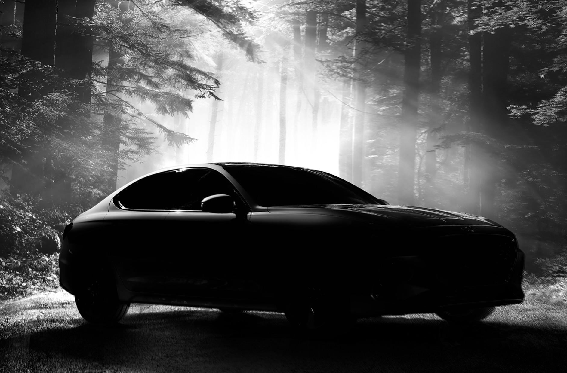 2018 genesis g70 sport. brilliant 2018 2018 genesis g70 sports sedan teaser  intended genesis g70 sport