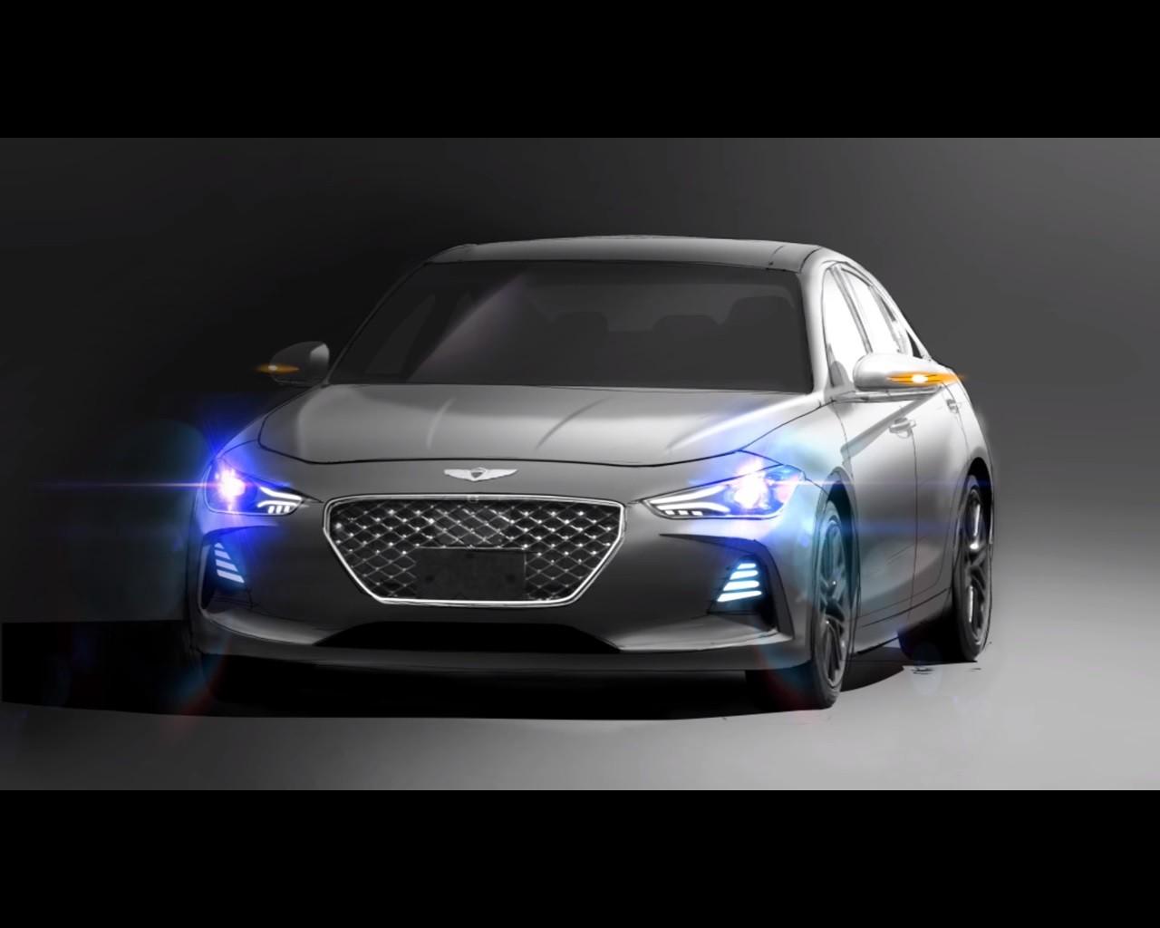 Watch: 2018 Genesis G70 Sport Sedan Teaser Confirms ...