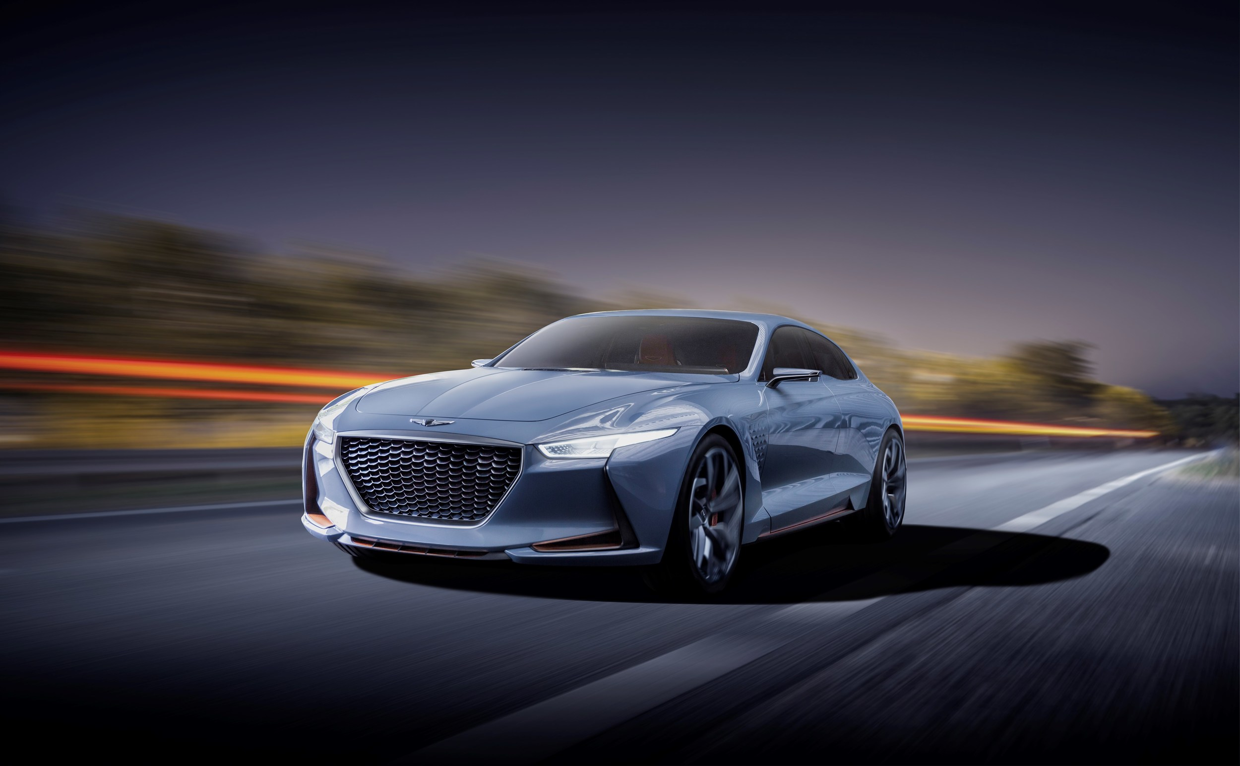 Genesis Motors Confirms G70 Sedan G70 Coupe Two Luxury