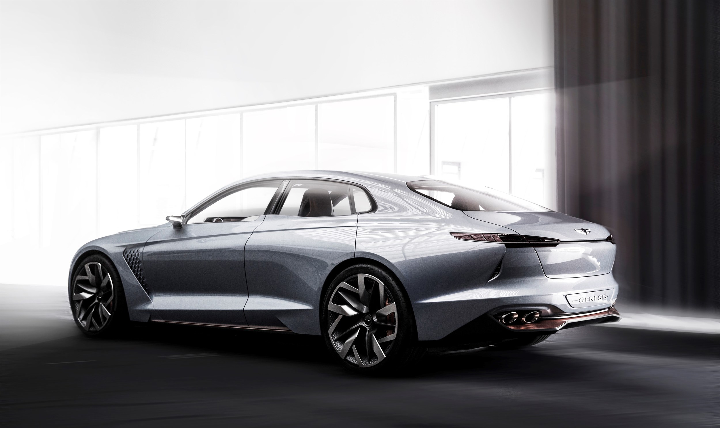 2018 genesis coupe. simple 2018 genesis new york concept preview for the 2018 g70 and genesis coupe