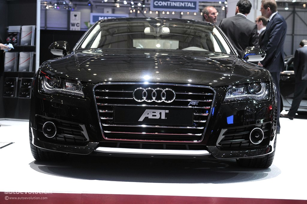 Geneva 2011 ABT Audi A7 Live Photos Autoevolution
