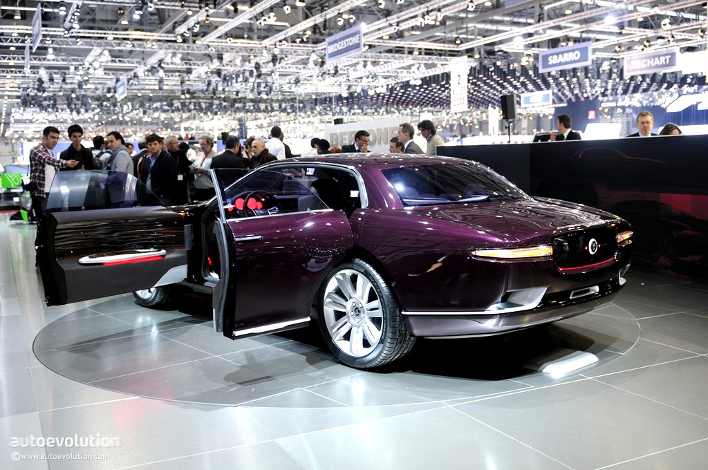 Geneva 2011 Bertone Jaguar B99 Concept Live Photos Autoevolution
