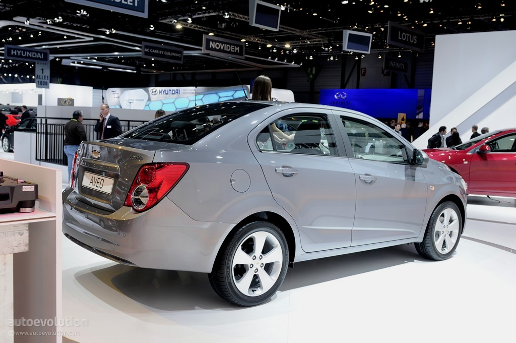 Geneva 2011: Chevrolet Aveo Sedan [Live Photos ...