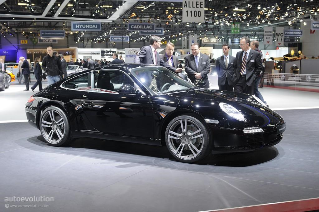 geneva 2011 porsche 911 black edition live photos autoevolution - 911 Porsche Black