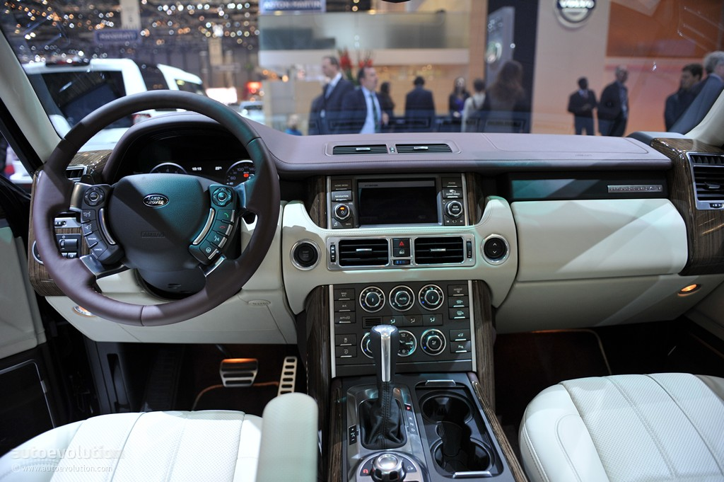 Range Rover Autobiography >> Geneva 2011: Range Rover Autobiography Ultimate Edition [Live Photos] - autoevolution