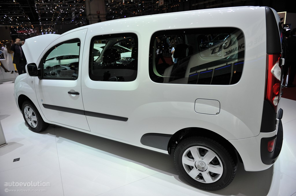 geneva 2011 renault kangoo ze live photos autoevolution. Black Bedroom Furniture Sets. Home Design Ideas
