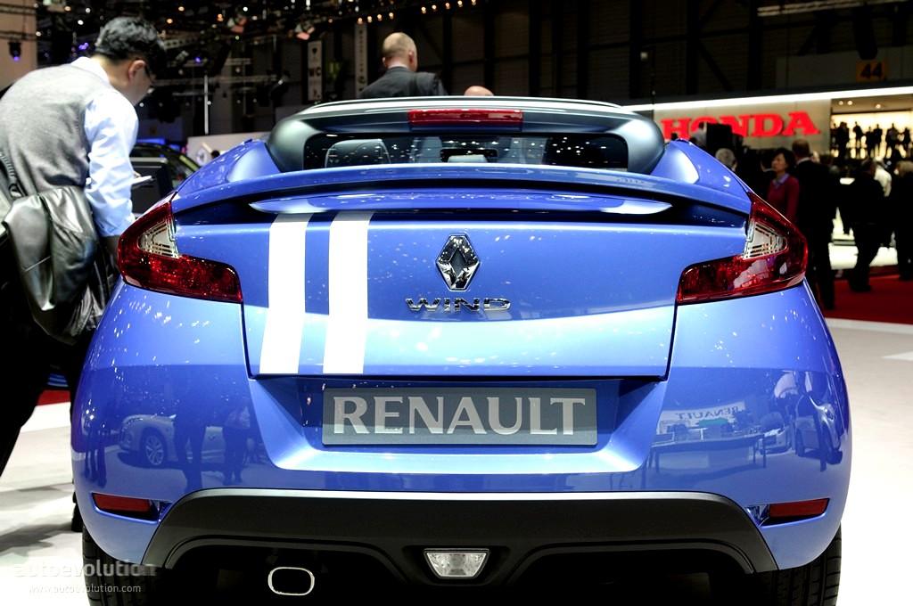 Geneva 2011 Renault Wind Gordini Live Photos Autoevolution