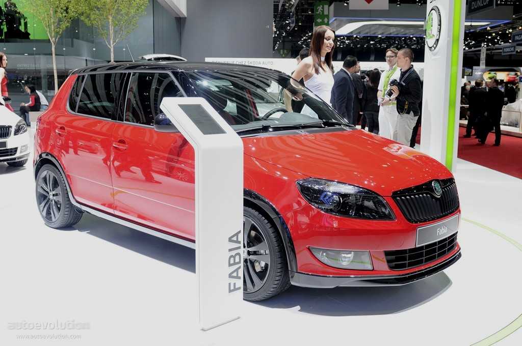 geneva 2011 skoda fabia monte carlo live photos autoevolution. Black Bedroom Furniture Sets. Home Design Ideas