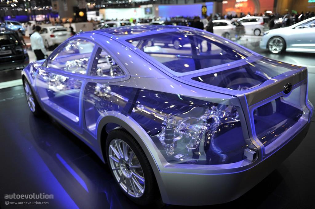 Toyota Ft 86 >> Geneva 2011: Subaru Boxer Sports Car Architecture [Live Photos] - autoevolution