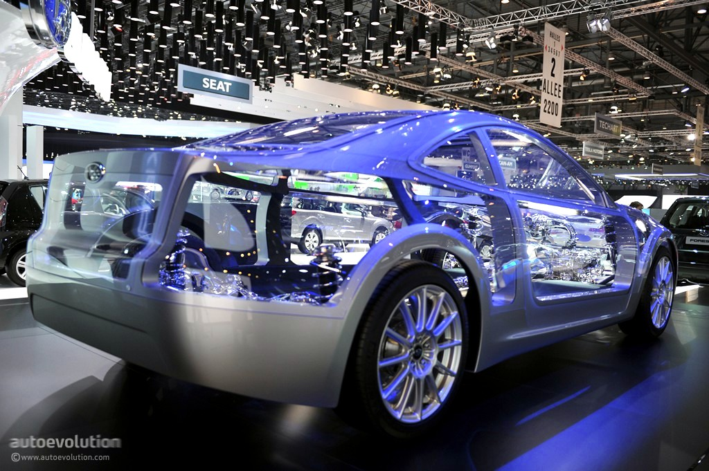 Geneva 2011 Subaru Boxer Sports Car Architecture Live