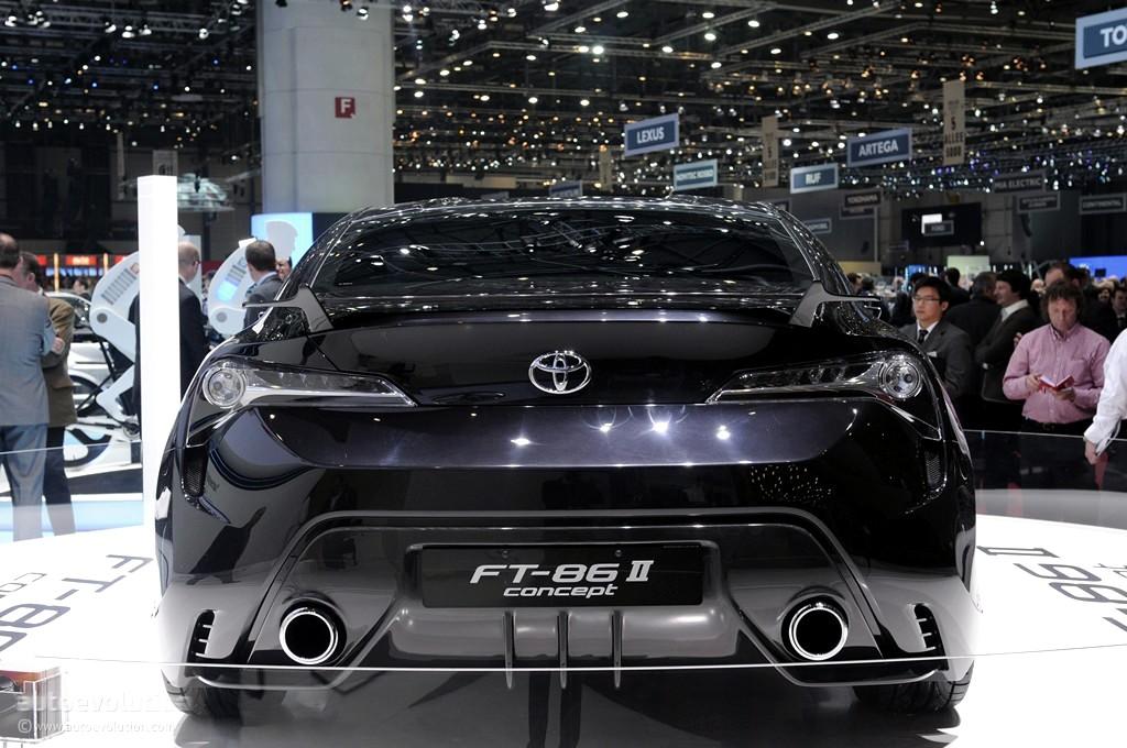 Geneva 2011: Toyota FT-86 II Concept [Live Photos] - photo gallery