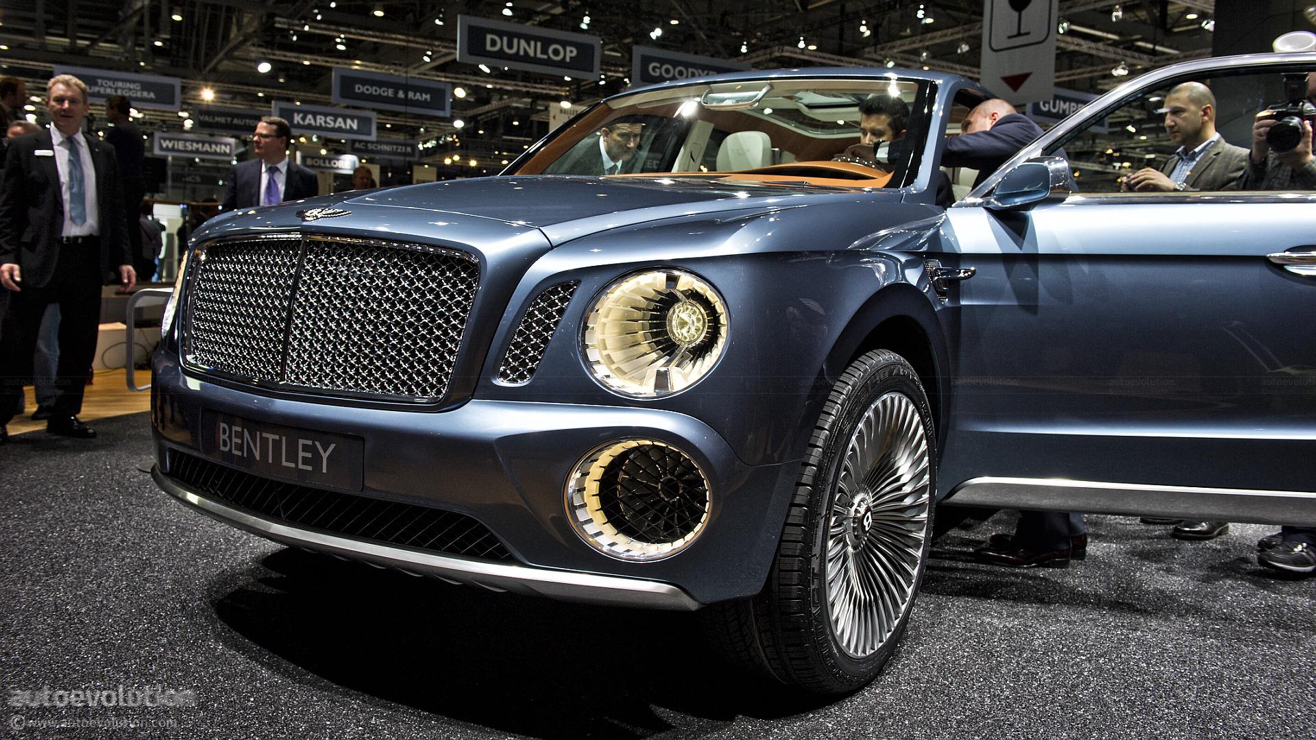 Geneva 2012 Bentley Exp 9 F Suv Concept Live Photos