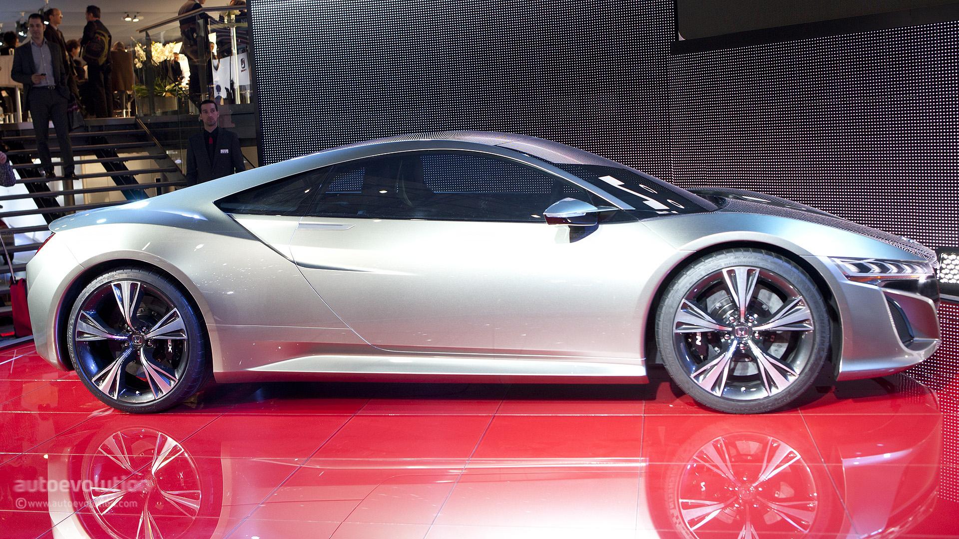 Geneva 2012: Honda NSX Concept Live Photos - autoevolution