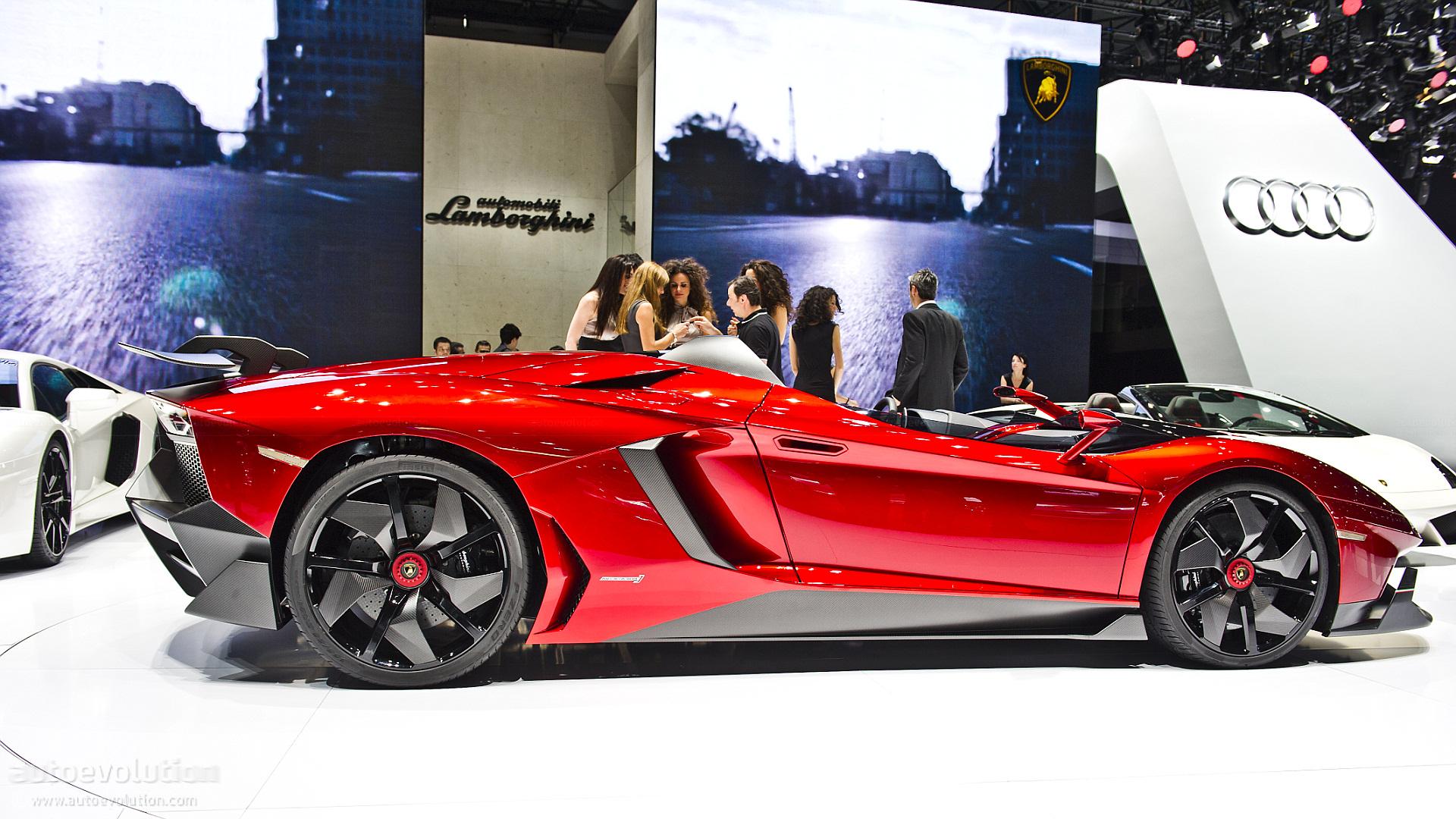 Lamborghini Aventador J Speedster Quot Making Of Quot Video Autoevolution