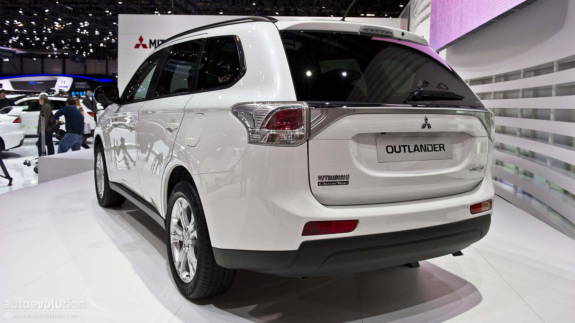 Geneva 2012: New Mitsubishi Outlander [Live Photos] - autoevolution
