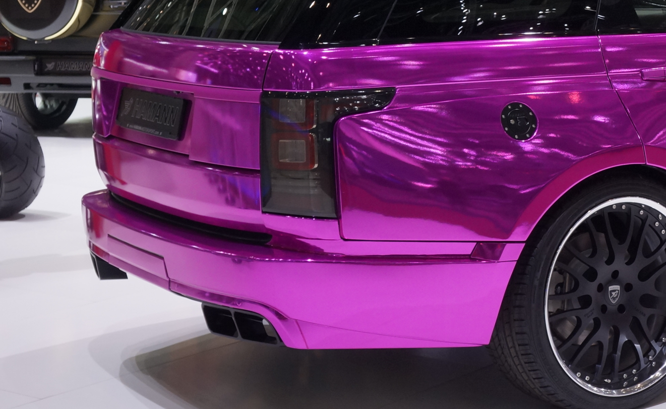 Geneva 2013 Chrome Pink Range Rover By Hamann Video Live Photos Autoevolution