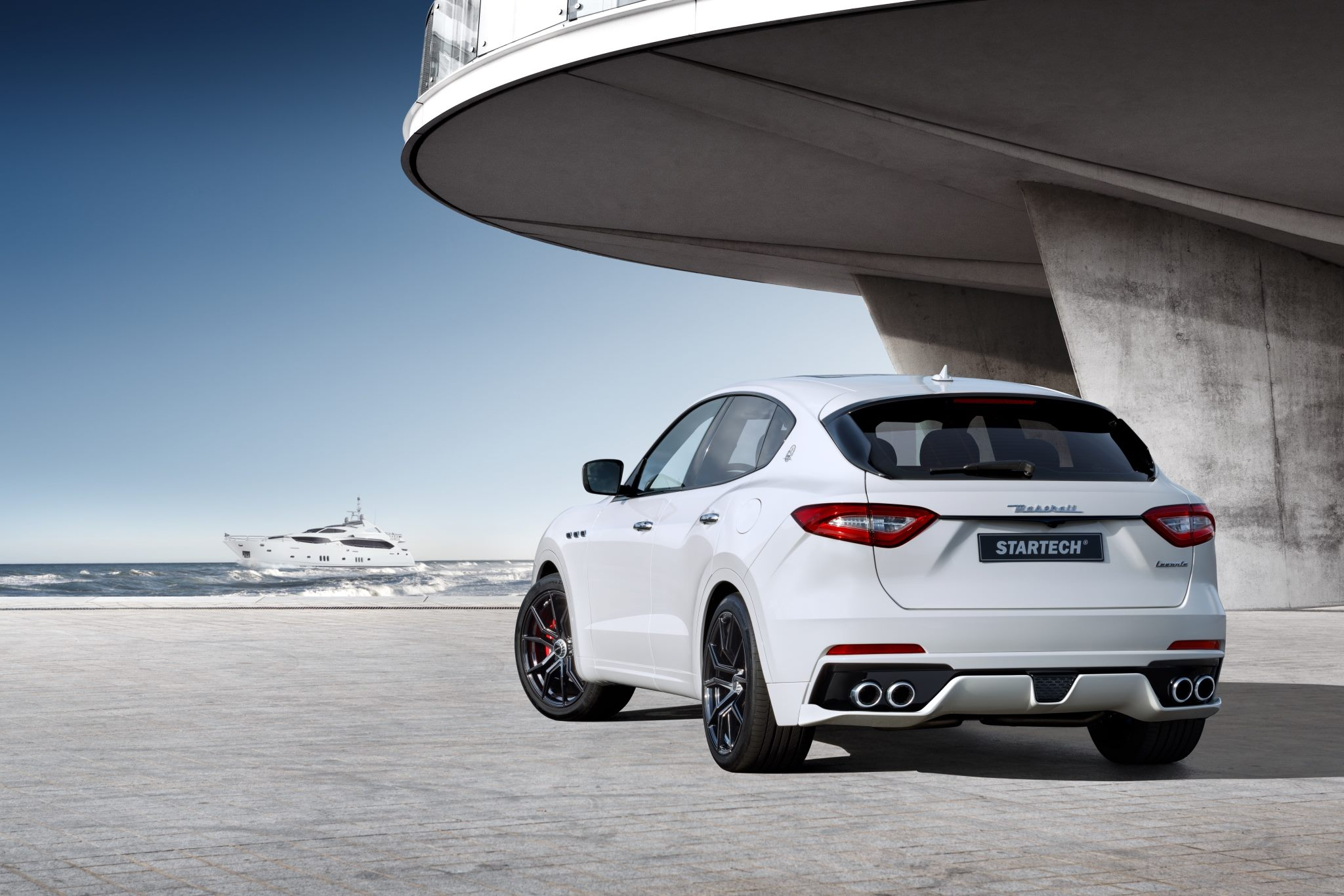 Maserati Levante Gets a Tuning Kit From Startech, It Looks ...