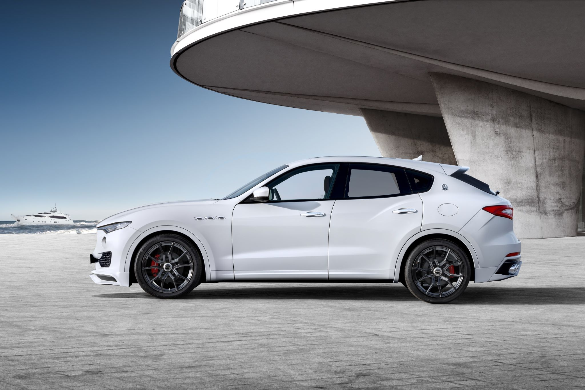 Maserati Levante Gets A Tuning Kit From Startech It Looks