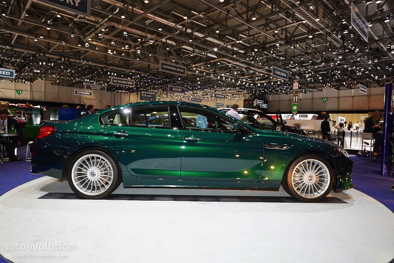 Geneva World Premiere Alpina B6 Xdrive Gran Coupe Live Photos Autoevolution