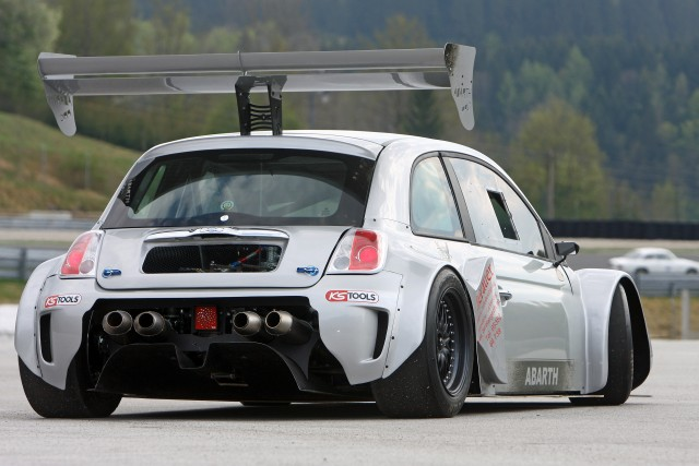 Georg Pacher Fiat 500 Prc Abarth Race Car Is Simply