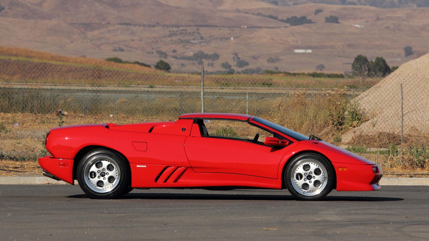 Buy This Lamborghini Diablo Get An Autographed George