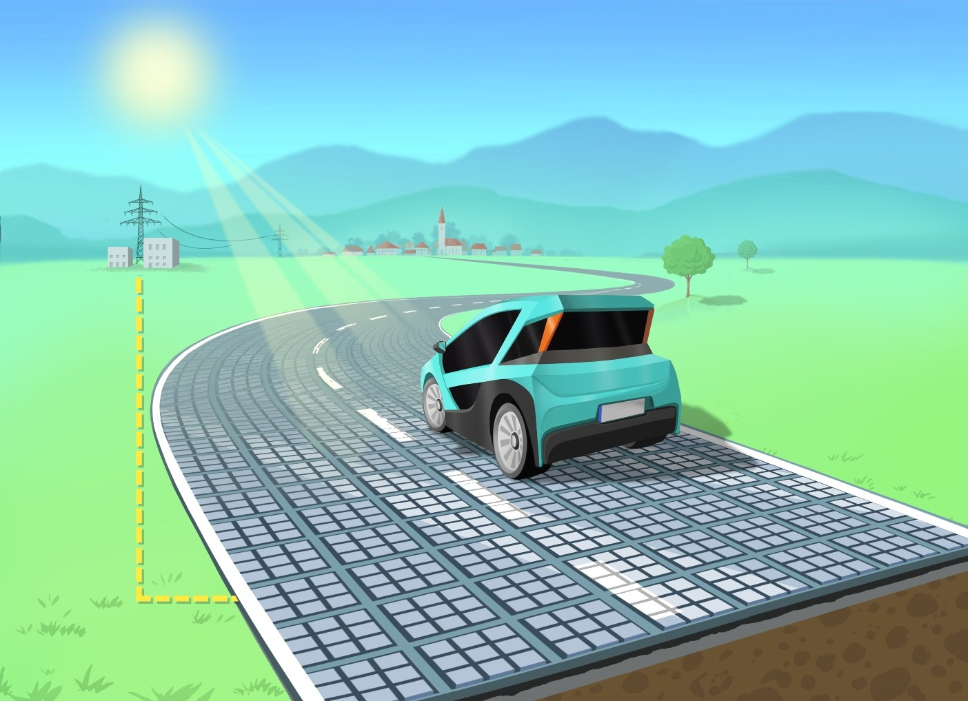 German Startup Wants To Get Electricity Out Of Roads With