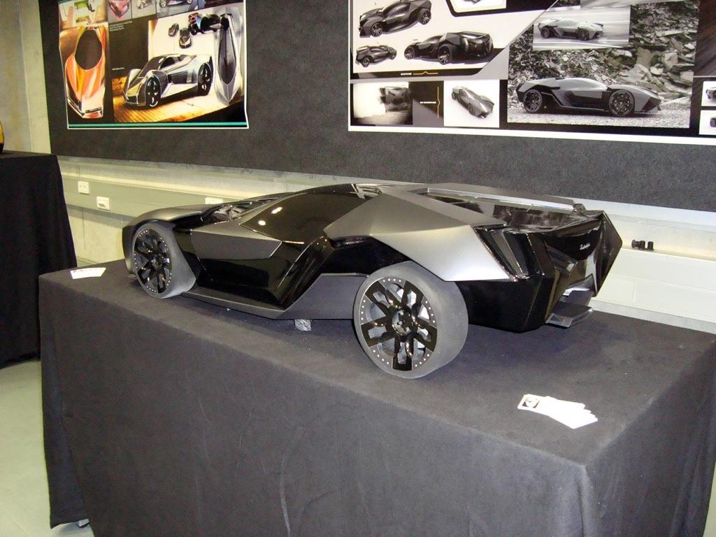 German Student Presents 2016 Lamborghini Ankonian Concept Autoevolution