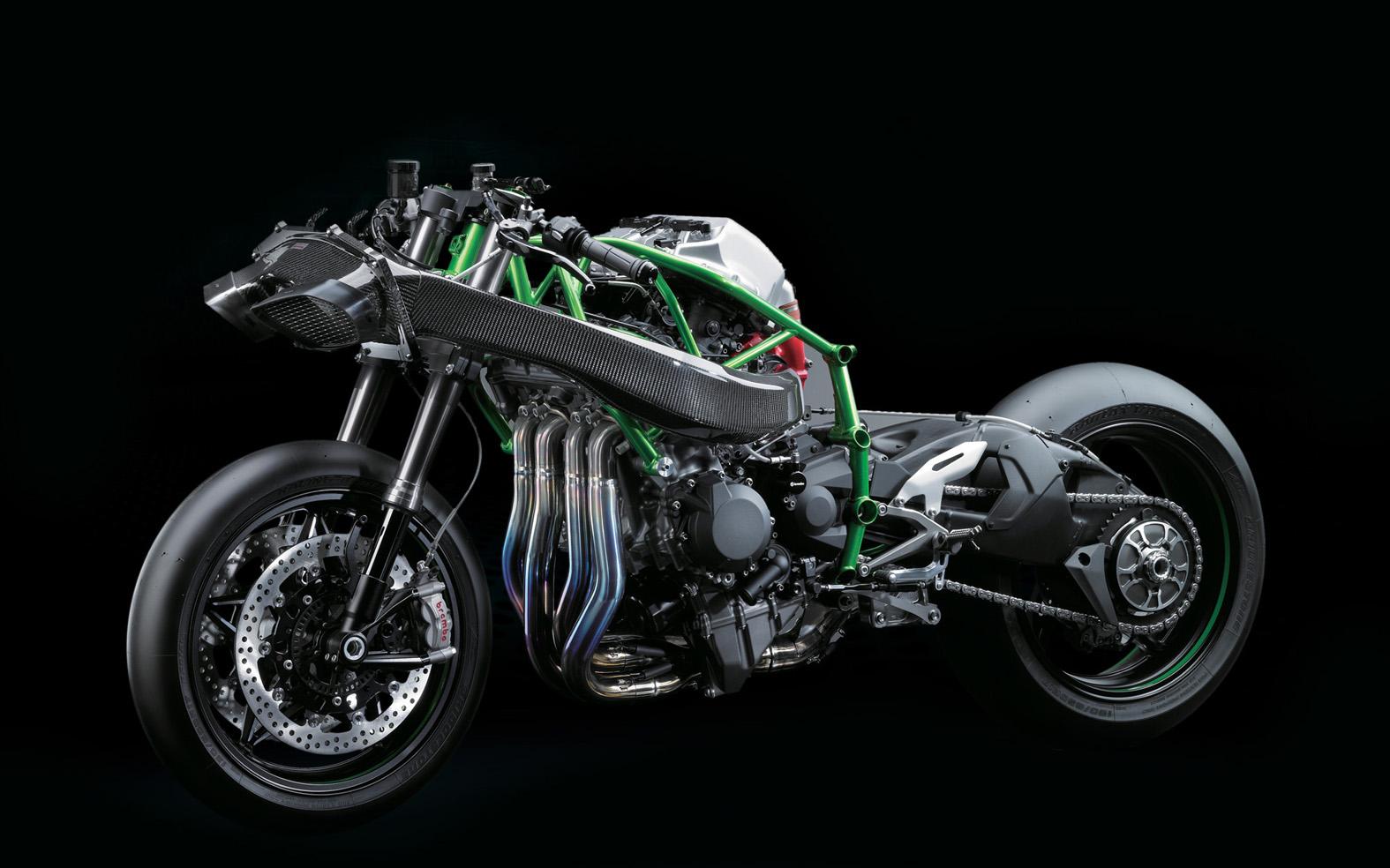 Get Ready For The Kawasaki Ninja H2 Cafe Racer Extreme Autoevolution