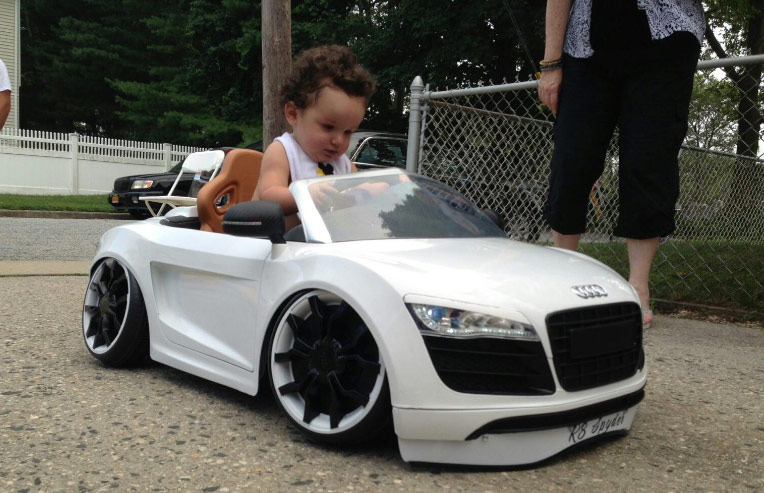 Hard pics of young kids in cars girl