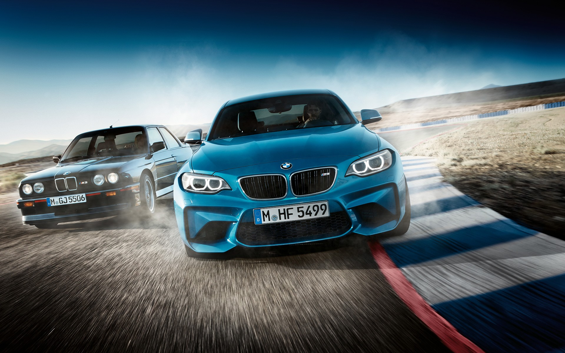 get your bmw m2 wallpapers fresh out the oven - autoevolution