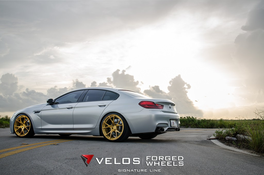 Getting Ready For Spring Bmw M6 Gran Coupe On Velos S3 Wheels Autoevolution