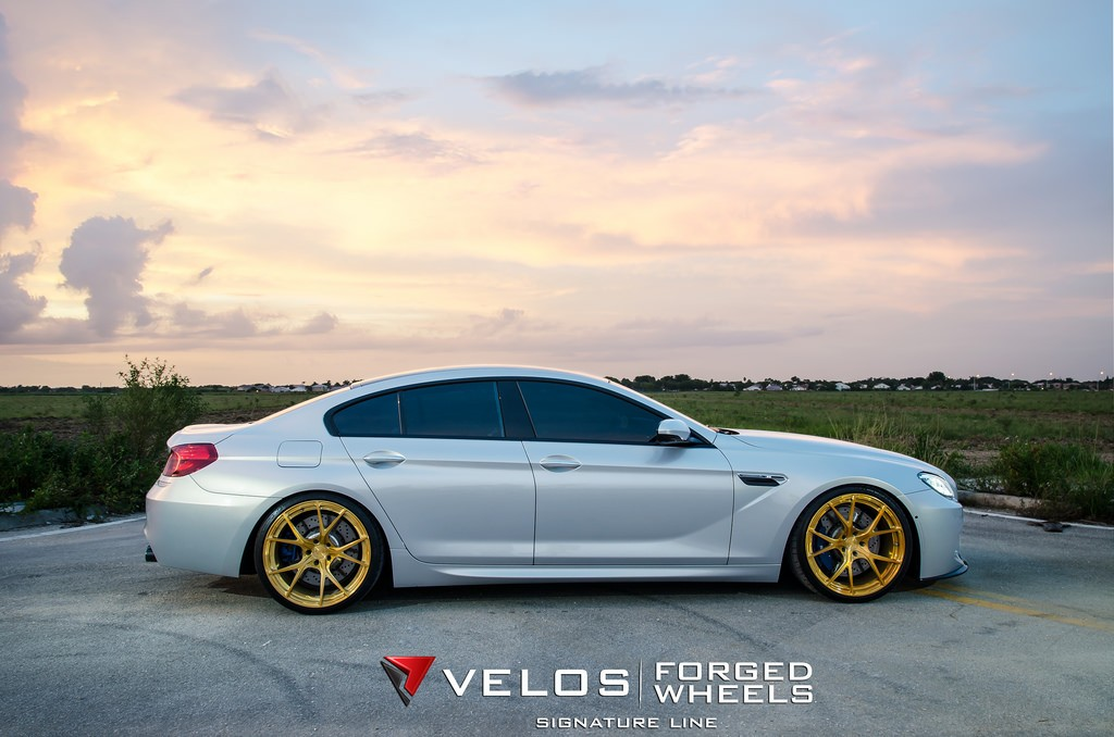 Getting Ready For Spring Bmw M6 Gran Coupe On Velos S3