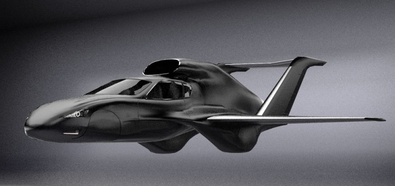 Gf7 Jet Flying Car Might Come Out In A Few Years