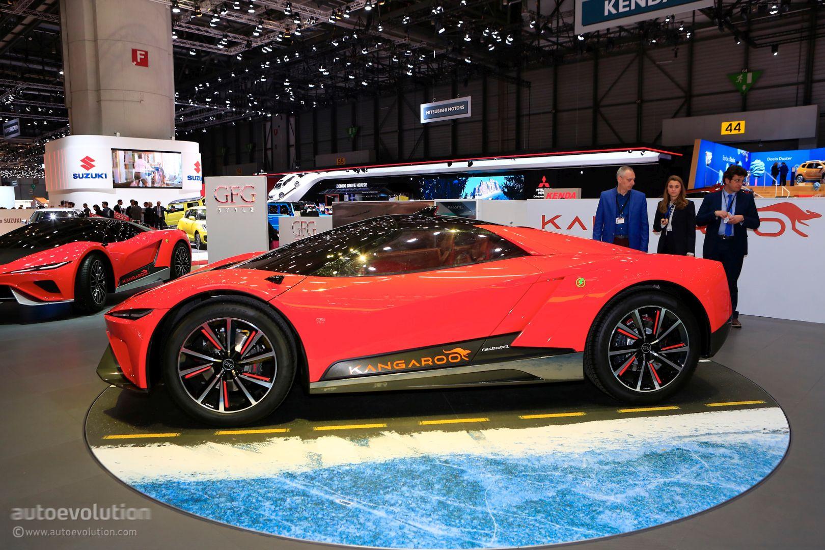 gfg style kangaroo is the jacked-up electric supercar we need