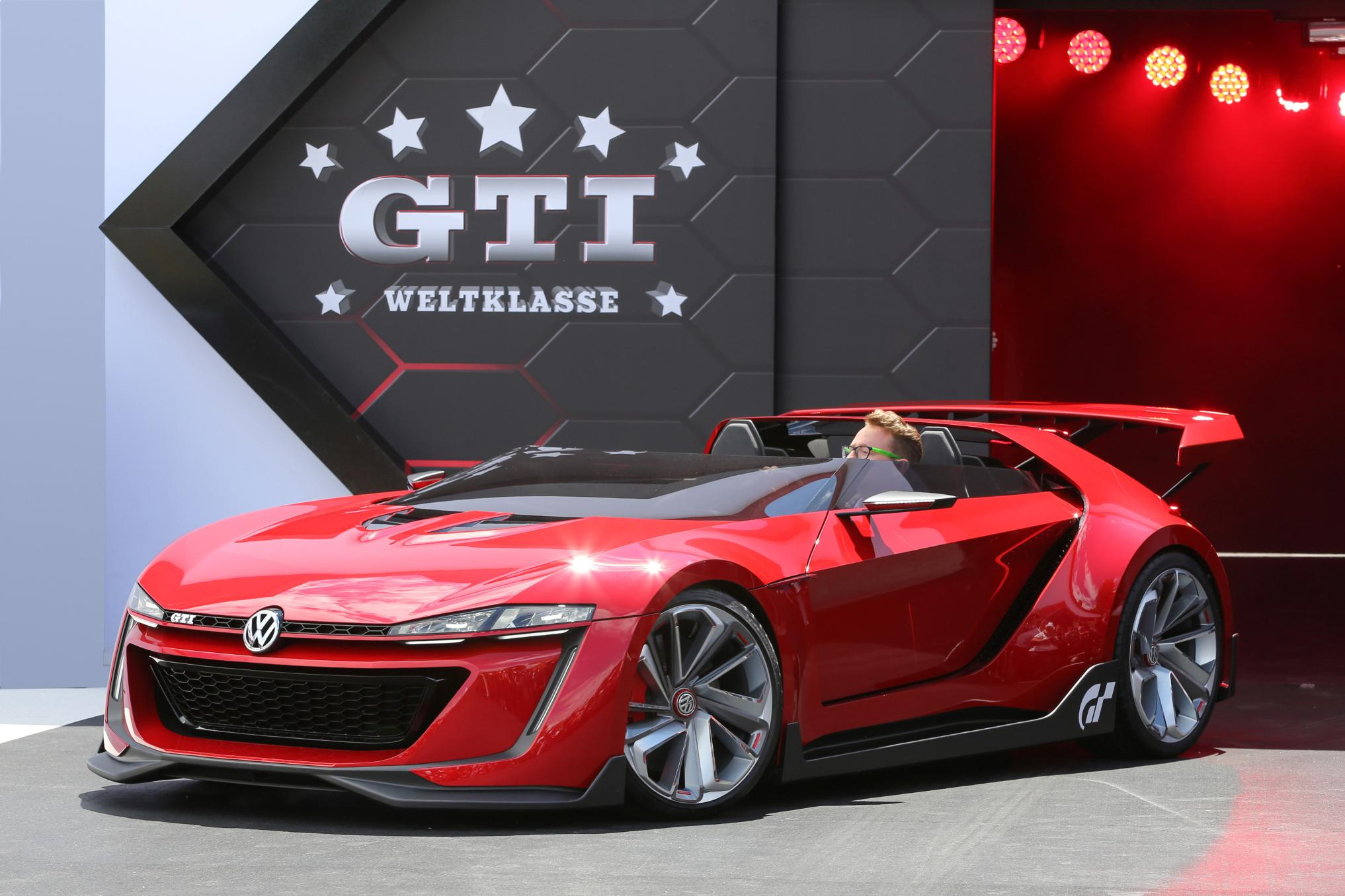GHz vs HP: Vision GTI Concept Coming to Goodwood Festival of Speed - autoevolution