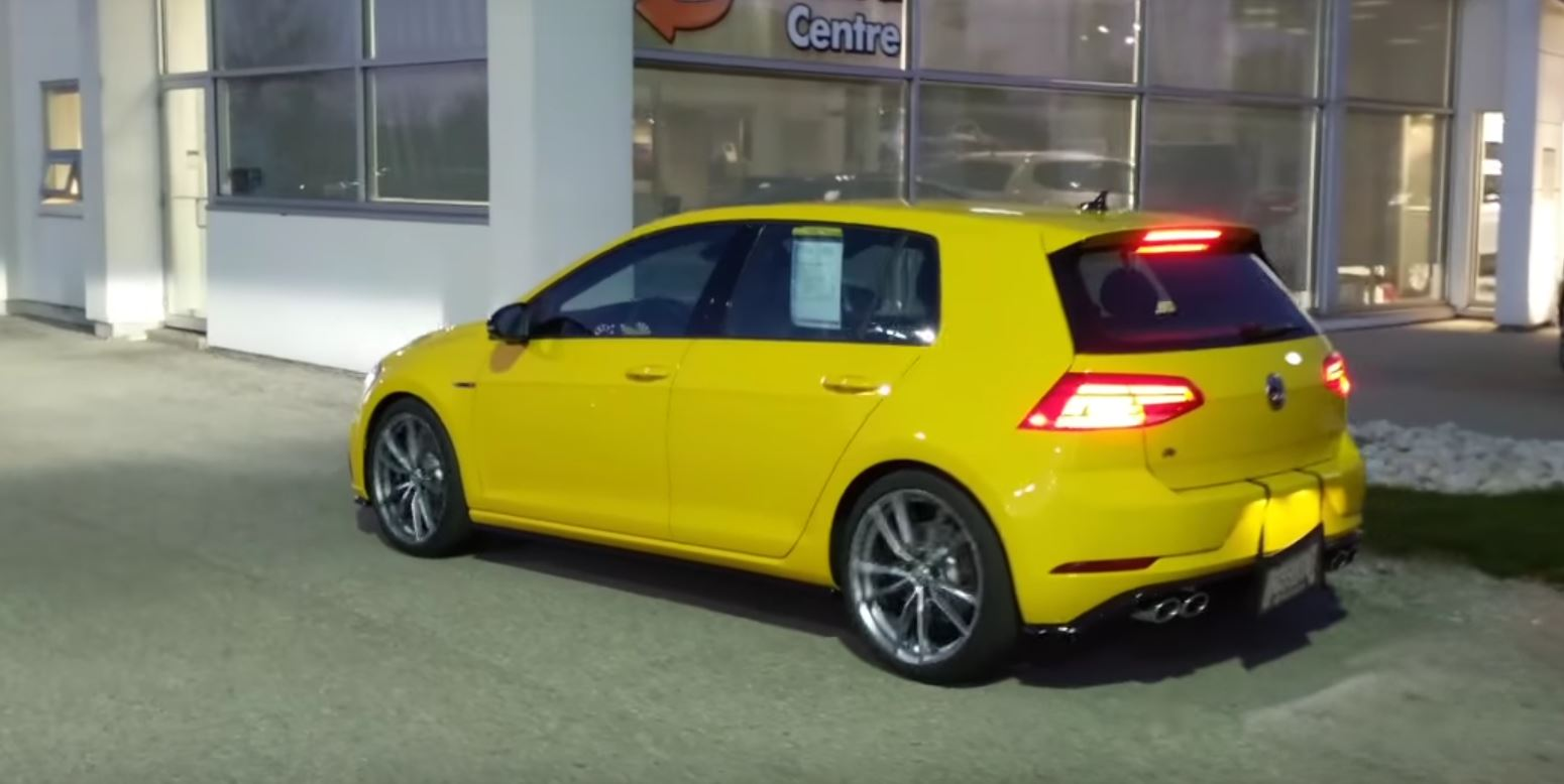 Ginster Yellow 2018 Vw Golf R Is A Thing Of Retro Beauty