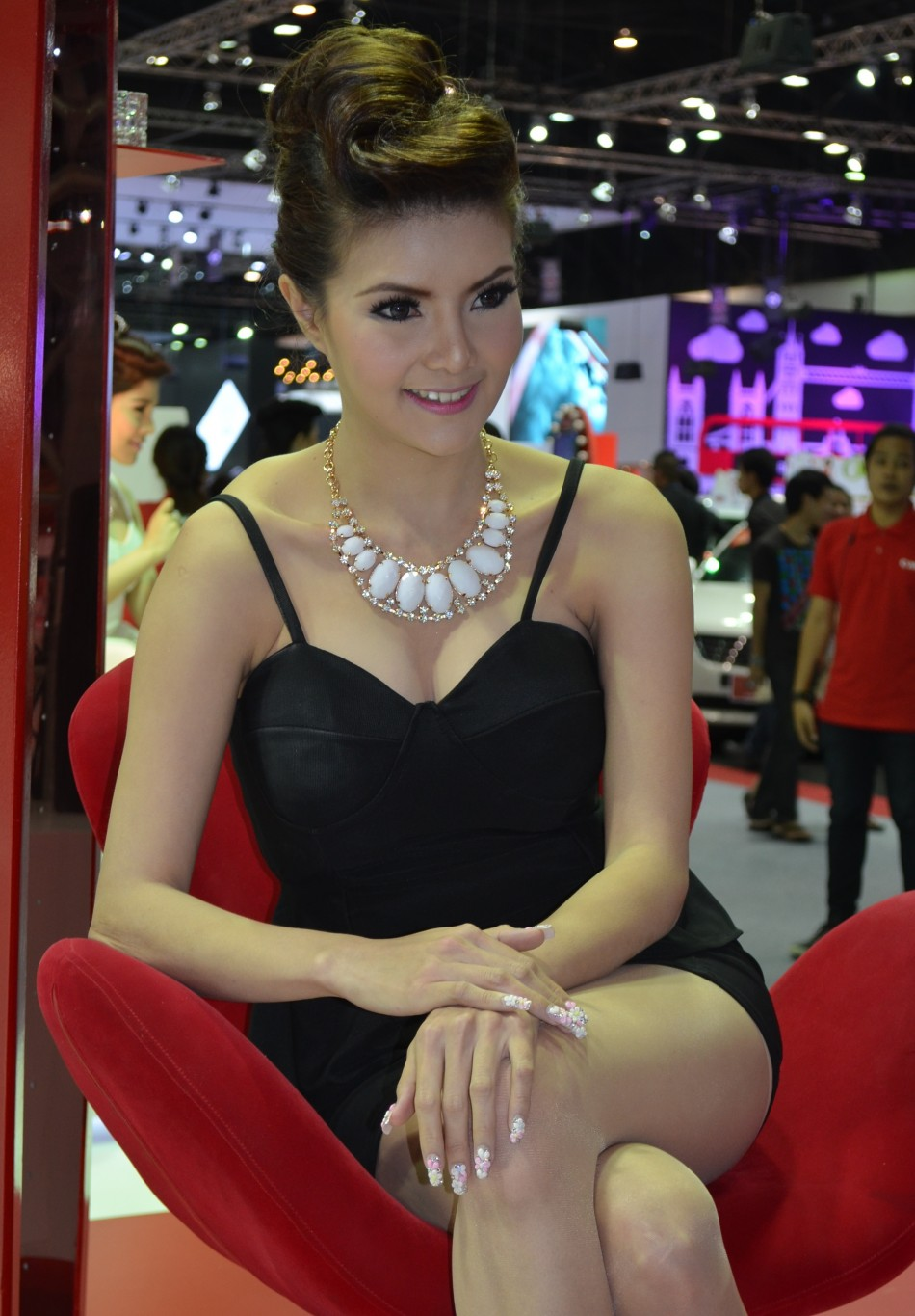 Girls At 2012 Thai Motor Expo