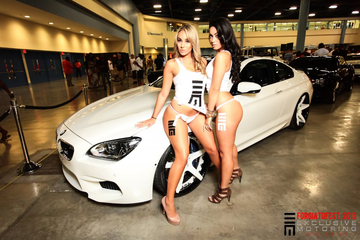 Girls Dressed In Duct Tape Present Bmw M6 On Forgiato