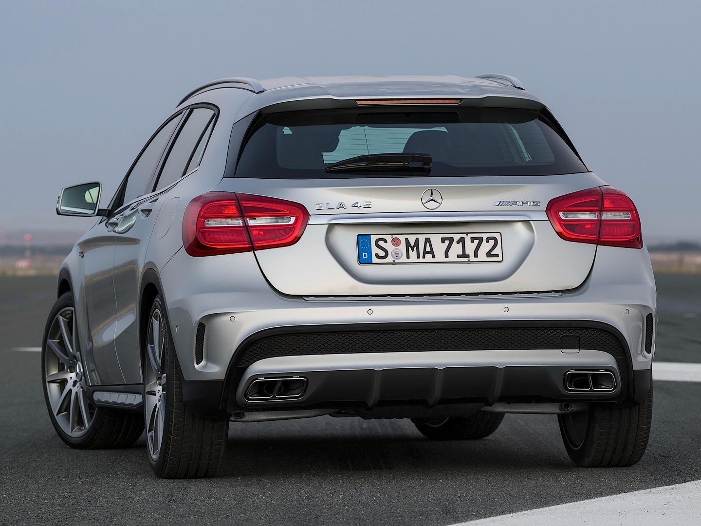 GLA 45 AMG Apparently Laps The Nurburgring in 8:11 Minutes - autoevolution