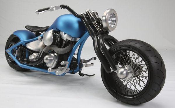 Custom Nissan Maxima >> Glasgow Kiss Custom Bike by Kootenay Motorcycle Art - autoevolution